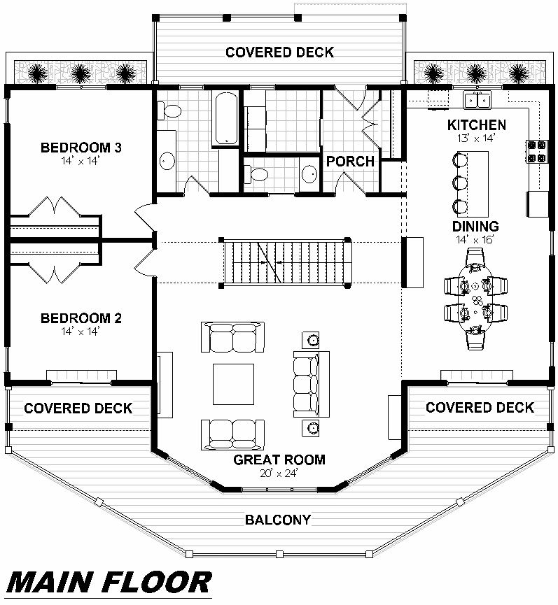 Plan 2001 Main Floor