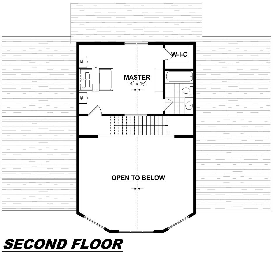 Plan 2001 Second Floor
