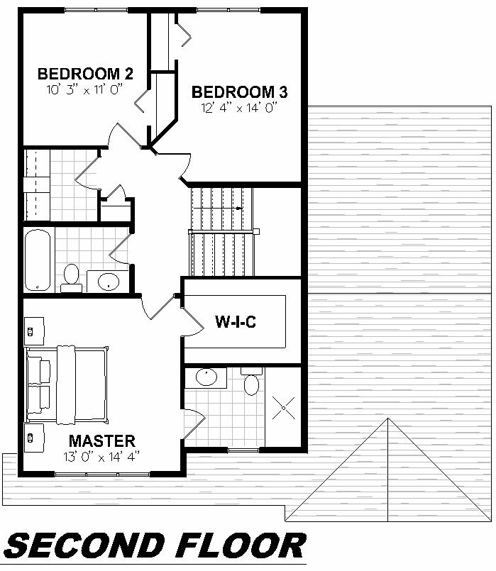 Plan 2002 Second Floor