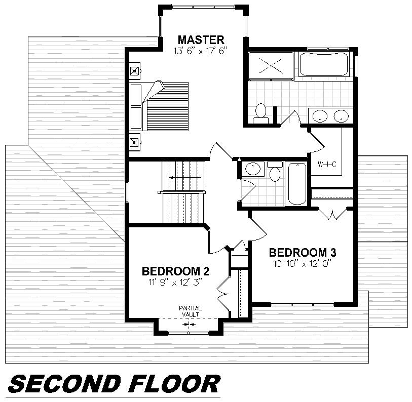 Plan 2004 Second Floor