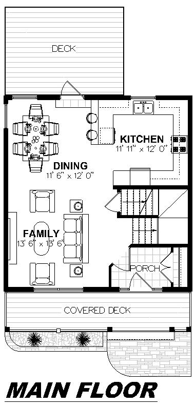 Plan 2005 Main Floor
