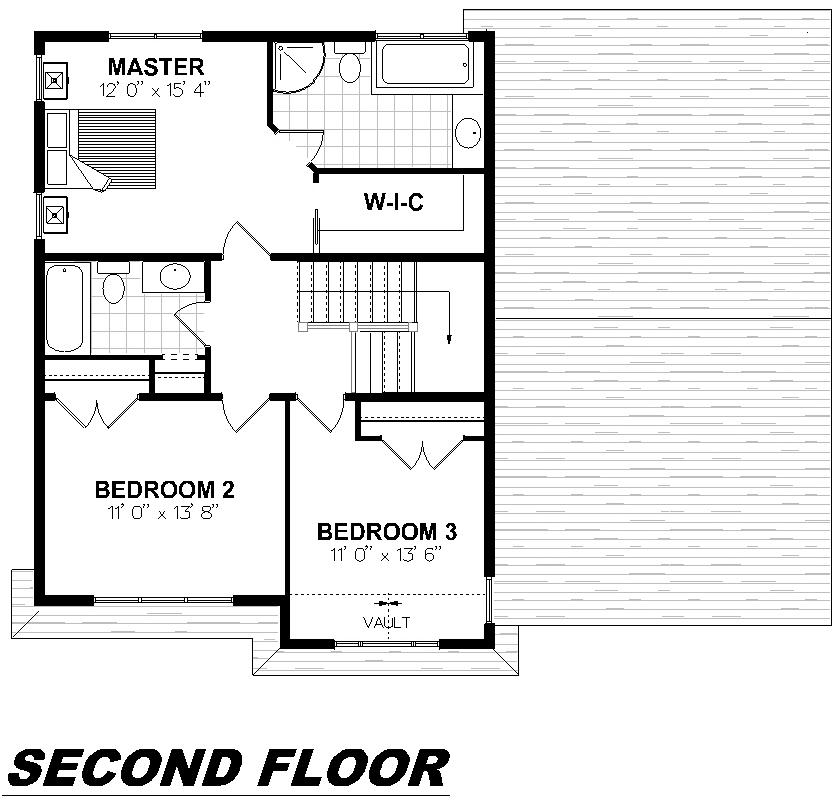 Plan 2006 Second Floor