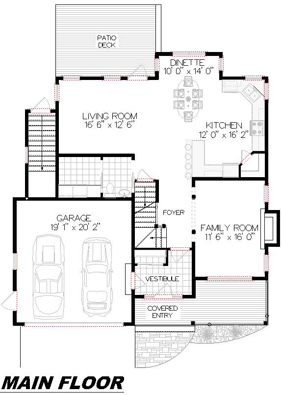 Plan 2008 Main Floor