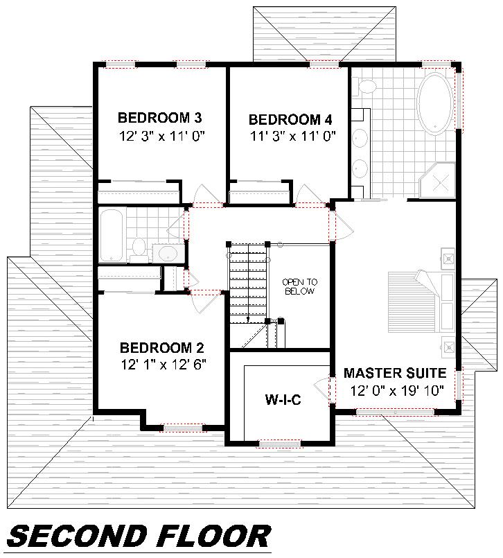 Plan 2008 Second Floor