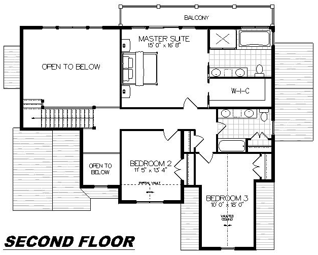 Plan 2011 Second Floor