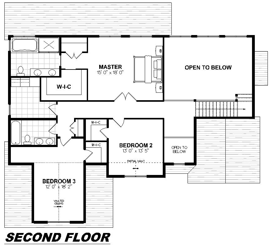 Plan 2012 Second Floor