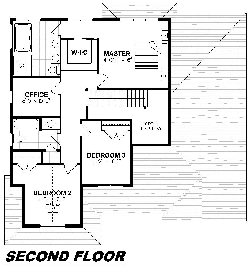 Plan 2013 Second Floor